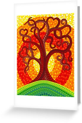 Autumn Illuminated Tree by Elspeth McLean