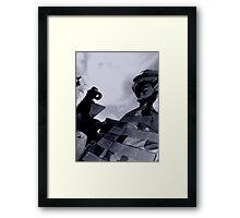 M240 Gunner Framed Print