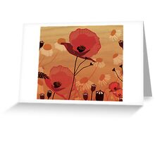 october Greeting Card