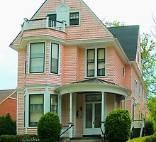 BUILT IN 1897 - THE PINK HOUSE by BCallahan
