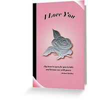 My Heart is Waiting Greeting Card