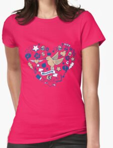 Hummm Womens Fitted T-Shirt