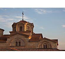 Ohrid Church Photographic Print