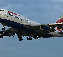 British Airways at LAX by gfydad