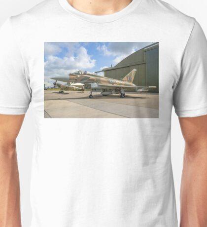 Eurofighter Typhoon FGR.4 ZK349 GN-A in camouflage Unisex T-Shirt