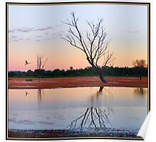 """Arcadia Valley Sunset"" Queensland, Australia Poster"