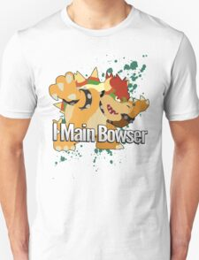 I Main Bowser - Super Smash Bros. Unisex T-Shirt