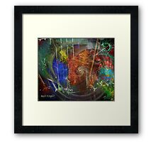 Web of Collective Unconsciousness Framed Print