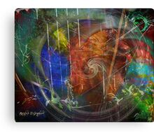Web of Collective Unconsciousness Canvas Print