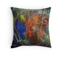 Web of Collective Unconsciousness Throw Pillow