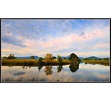 Rous River, Tweed Valley, Australia Photographic Print