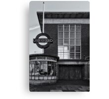 Rayners Lane Tube Station Canvas Print
