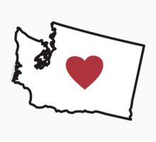 I Love Washington State by USAswagg2