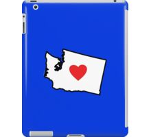 I Love Washington State iPad Case/Skin