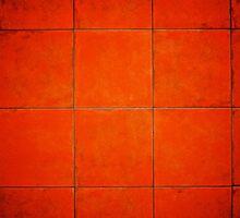 My Red Wall by Ruben D. Mascaro