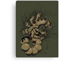 Escorpión Canvas Print