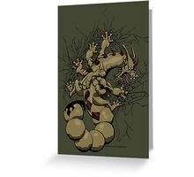 Escorpión Greeting Card