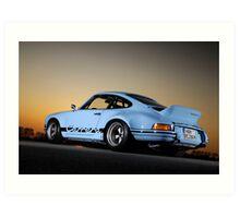 Porsche 911 RSR .... Art Print