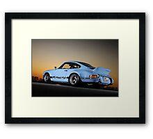 Porsche 911 RSR .... Framed Print