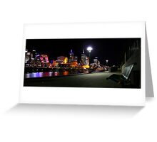 In Melbourne tonight Greeting Card