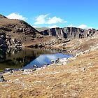 Summit Lake at Mt Evans by Graeme  Hyde