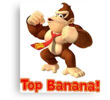 Top Banana Canvas Print