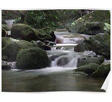 Running water - Mossman Gorge, Far North Queensland Poster