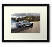 The BMW M3 .... Framed Print