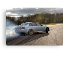 The BMW M3 .... Canvas Print