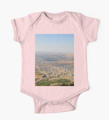 an awe-inspiring Iraq landscape One Piece - Short Sleeve