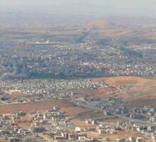 an awe-inspiring Iraq landscape Sticker