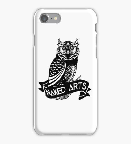 Simple Illustration Of Owl  iPhone Case/Skin