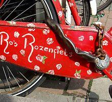 Ro's Rose bike by Marjolein Katsma