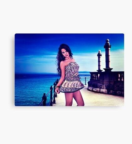 High Fashion  Fine Art Print Canvas Print