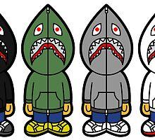 Sharks by bradjordan412