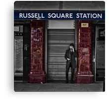 Russel Square Tube Station Canvas Print