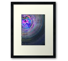 Experiments in Light and Magic Framed Print