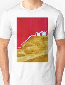 Arches in Landscape original painting T-Shirt
