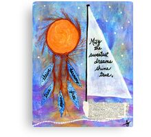 Sweet Dreams Shine Canvas Print