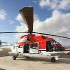 Helicopter Eurocopter AS332 L1 Puma #2 by Mark Hamilton