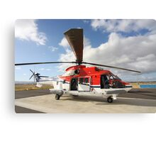 Helicopter Eurocopter AS332 L1 Puma #2 Canvas Print