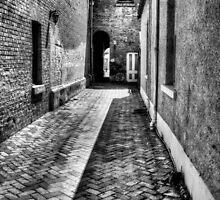 black alley by Simon Penrose