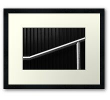 Without hands Framed Print