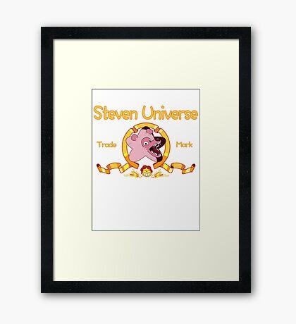 Steven Universe - MGM Parody Framed Print
