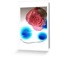 New Flower Project 110 Greeting Card