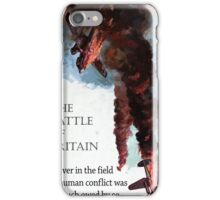 The Battle Of Britain WW2 Art reproduction iPhone Case/Skin