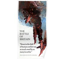 The Battle Of Britain WW2 Art reproduction Poster