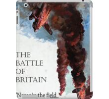 The Battle Of Britain WW2 Art reproduction iPad Case/Skin