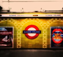 Sloane Square Tube Station by AntSmith