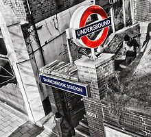 Snaresbrook Tube Station by AntSmith